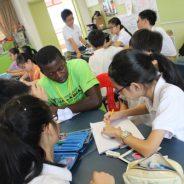 小学组入围作品:刘星语(光华学校)- 与非洲ACC圆通学校院童交流后的体会与感受