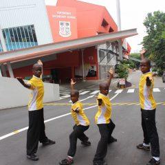 女皇道中学活动照片