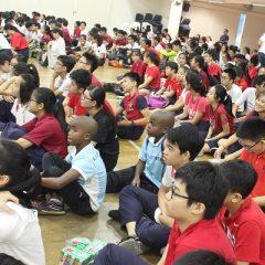 新加坡的国庆节 – 清定(中二)
